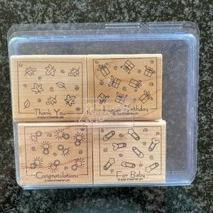Stampin Up Fabulous Four Stamp Set